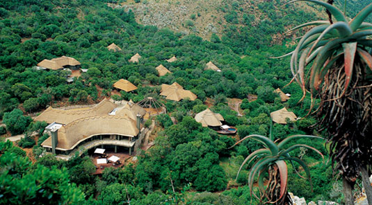 Shamwari Game Reserve - Eagles Crag Lodge